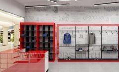Дизайн магазина одежды коллекция торгового оборудования КРАСНАЯ ЛИНИЯ Дизайн 02