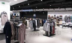 Оборудование для магазина одежды Rus Fashion Park Зал 1 ТРЦ VEGAS Кунцево коллекция BLACK STAR Фото 04