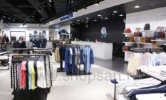 Оборудование для магазина одежды Rus Fashion Park Зал 1 ТРЦ VEGAS Кунцево коллекция BLACK STAR Фото 06