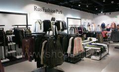 Оборудование для магазина одежды Rus Fashion Park Зал 1 ТРЦ VEGAS Кунцево коллекция BLACK STAR Фото 07