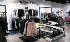 Оборудование для магазина одежды Rus Fashion Park Зал 1 ТРЦ VEGAS Кунцево коллекция BLACK STAR Фото 08