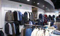 Оборудование для магазина одежды Rus Fashion Park Зал 1 ТРЦ VEGAS Кунцево коллекция BLACK STAR Фото 11