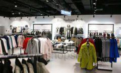 Оборудование для магазина одежды Rus Fashion Park Зал 1 ТРЦ VEGAS Кунцево коллекция BLACK STAR Фото 17