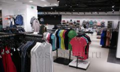 Оборудование для магазина одежды Rus Fashion Park Зал 1 ТРЦ VEGAS Кунцево коллекция BLACK STAR Фото 19