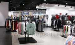 Оборудование для магазина одежды Rus Fashion Park Зал 1 ТРЦ VEGAS Кунцево коллекция BLACK STAR Фото 26