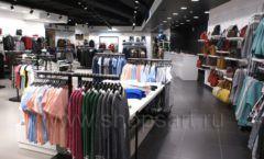 Оборудование для магазина одежды Rus Fashion Park Зал 1 ТРЦ VEGAS Кунцево коллекция BLACK STAR Фото 27