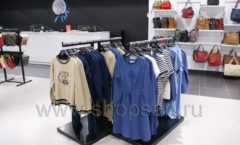 Оборудование для магазина одежды Rus Fashion Park Зал 1 ТРЦ VEGAS Кунцево коллекция BLACK STAR Фото 30