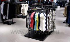 Оборудование для магазина одежды Rus Fashion Park Зал 1 ТРЦ VEGAS Кунцево коллекция BLACK STAR Фото 31