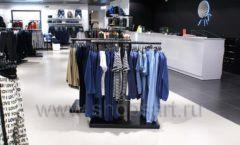 Оборудование для магазина одежды Rus Fashion Park Зал 1 ТРЦ VEGAS Кунцево коллекция BLACK STAR Фото 32