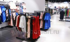Оборудование для магазина одежды Rus Fashion Park Зал 1 ТРЦ VEGAS Кунцево коллекция BLACK STAR Фото 33