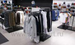 Оборудование для магазина одежды Rus Fashion Park Зал 1 ТРЦ VEGAS Кунцево коллекция BLACK STAR Фото 34