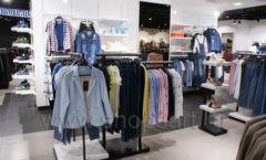 Оборудование для магазина одежды Rus Fashion Park Зал 1 ТРЦ VEGAS Кунцево коллекция BLACK STAR Фото 35