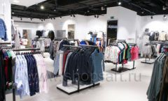 Оборудование для магазина одежды Rus Fashion Park Зал 1 ТРЦ VEGAS Кунцево коллекция BLACK STAR Фото 36