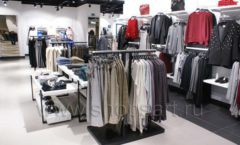 Оборудование для магазина одежды Rus Fashion Park Зал 1 ТРЦ VEGAS Кунцево коллекция BLACK STAR Фото 37