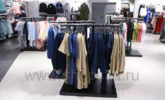 Оборудование для магазина одежды Rus Fashion Park Зал 1 ТРЦ VEGAS Кунцево коллекция BLACK STAR Фото 38