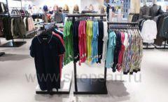 Оборудование для магазина одежды Rus Fashion Park Зал 1 ТРЦ VEGAS Кунцево коллекция BLACK STAR Фото 39
