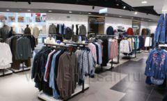 Оборудование для магазина одежды Rus Fashion Park Зал 1 ТРЦ VEGAS Кунцево коллекция BLACK STAR Фото 40