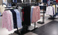 Оборудование для магазина одежды Rus Fashion Park Зал 1 ТРЦ VEGAS Кунцево коллекция BLACK STAR Фото 41