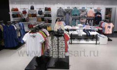 Оборудование для магазина одежды Rus Fashion Park Зал 1 ТРЦ VEGAS Кунцево коллекция BLACK STAR Фото 42
