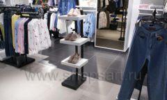 Оборудование для магазина одежды Rus Fashion Park Зал 1 ТРЦ VEGAS Кунцево коллекция BLACK STAR Фото 43