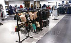 Оборудование для магазина одежды Rus Fashion Park Зал 1 ТРЦ VEGAS Кунцево коллекция BLACK STAR Фото 44
