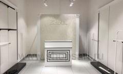 Оборудование для магазина одежды Зена Югорск коллекция BLACK STAR Фото 1