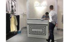 Оборудование для магазина одежды Зена Югорск коллекция BLACK STAR Фото 8