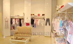 Торговое оборудование детского магазина Винни одежда ТЦ Dream House коллекция 21 ВЕК Фото 01