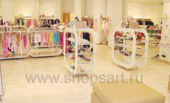 Торговое оборудование детского магазина Винни одежда ТЦ Dream House коллекция 21 ВЕК Фото 02
