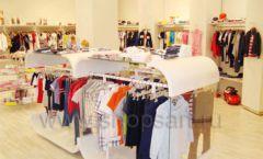 Торговое оборудование детского магазина Винни одежда ТЦ Dream House коллекция 21 ВЕК Фото 06