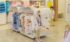 Торговое оборудование детского магазина Винни одежда ТЦ Dream House коллекция 21 ВЕК Фото 08