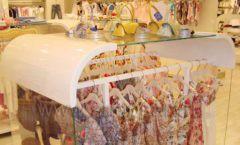 Торговое оборудование детского магазина Винни одежда ТЦ Dream House коллекция 21 ВЕК Фото 10