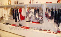 Торговое оборудование детского магазина Винни одежда ТЦ Dream House коллекция 21 ВЕК Фото 13