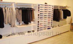 Торговое оборудование детского магазина Винни одежда ТЦ Dream House коллекция 21 ВЕК Фото 14