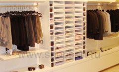 Торговое оборудование детского магазина Винни одежда ТЦ Dream House коллекция 21 ВЕК Фото 15