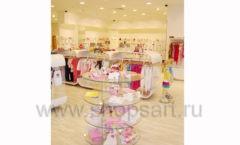 Торговое оборудование детского магазина Винни одежда ТЦ Dream House коллекция 21 ВЕК Фото 20