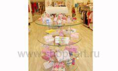 Торговое оборудование детского магазина Винни одежда ТЦ Dream House коллекция 21 ВЕК Фото 21