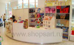 Торговое оборудование детского магазина Винни одежда ТЦ Dream House коллекция 21 ВЕК Фото 22