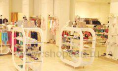 Торговое оборудование детского магазина Винни обувь ТЦ Dream House коллекция 21 ВЕК Фото 02