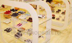 Торговое оборудование детского магазина Винни обувь ТЦ Dream House коллекция 21 ВЕК Фото 03