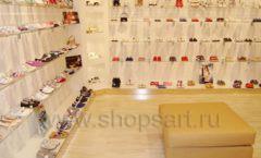 Торговое оборудование детского магазина Винни обувь ТЦ Dream House коллекция 21 ВЕК Фото 04
