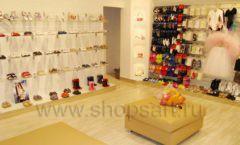 Торговое оборудование детского магазина Винни обувь ТЦ Dream House коллекция 21 ВЕК Фото 05