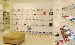 Торговое оборудование детского магазина Винни обувь ТЦ Dream House коллекция 21 ВЕК Фото 06