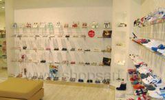 Торговое оборудование детского магазина Винни обувь ТЦ Dream House коллекция 21 ВЕК Фото 08