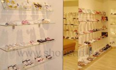 Торговое оборудование детского магазина Винни обувь ТЦ Dream House коллекция 21 ВЕК Фото 11
